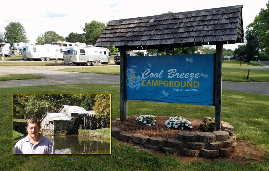 Robert Sells, owner of Cool Breeze Campground