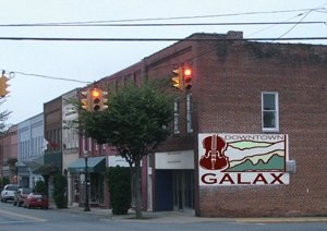 Image of Galax, VA - links to Visit Galax website