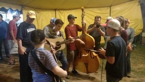 Kids learning to play Bluegrass music